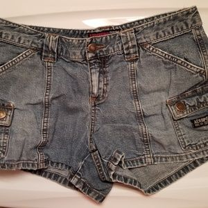 Aeropostal denim shorts